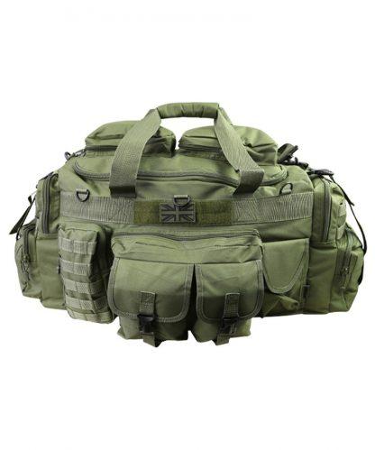 KombatUK Holdall - Saxon 100ltr - Olive front