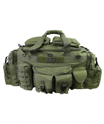 KombatUK Holdall - Saxon 125ltr - Olive front