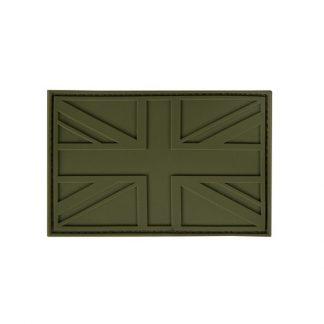 KombatUK UK PVC Stealth Patch - Olive Green