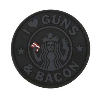 KombatUK Guns & Bacon Patch - Black