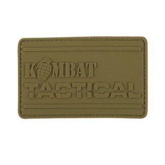 KombatUK PVC Tactical Patch - Coyote