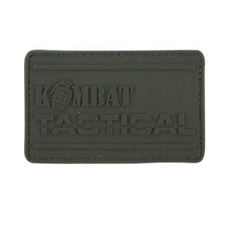 KombatUK PVC Tactical Patch - Olive Green