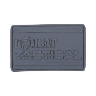 KombatUK PVC Tactical Patch - Gunmetal Grey