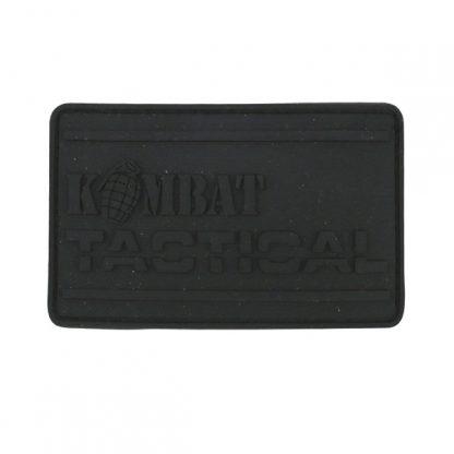 KombatUK PVC Tactical Patch - Black