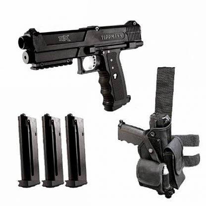 Tippmann TiPX Pistol – Black (Delux)
