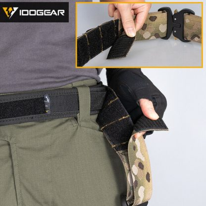 "IDOGear Tactical 2"" MOLLE Combat belt velcro"
